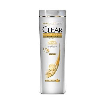 Shampoo Clear Anticaspa - Limpa E Purifica Mulher | 200ml