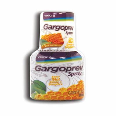 Gargoprev Spray 30ml Sabor Mel + Gengibre + Limão + Própolis