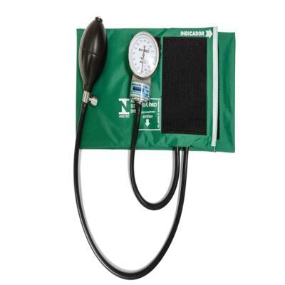 Imagem 4 do produto Kit Esteto Simples Com Aparelho de Pressão Verde P.A. Med-excluir
