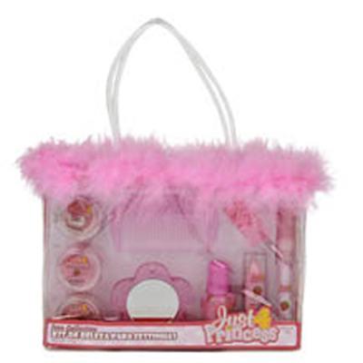 Kit Beleza para Festinhas Just 4 Princess - Kit de Maquiagem Infantil - Kit
