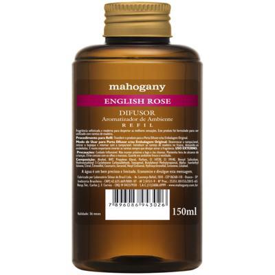 Refil de Difusor de Ambiente English Rose Mahogany 150ml