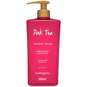 Sabonete Líquido Pink Tea Shower Show Mahogany 980ml