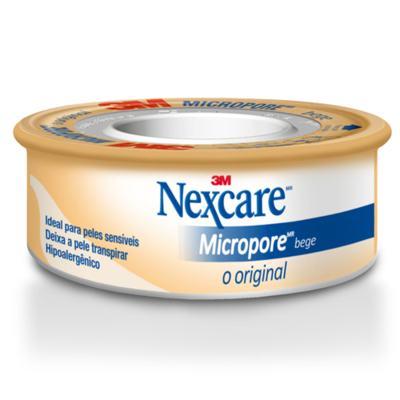 Imagem 1 do produto Fita Micropore Nexcare Bege 100mm x 4,5m