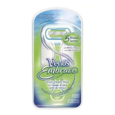 Imagem 2 do produto Venus Embrace Gillette - Kit Aparelho Depilatório + Cartucho + Suporte - Kit