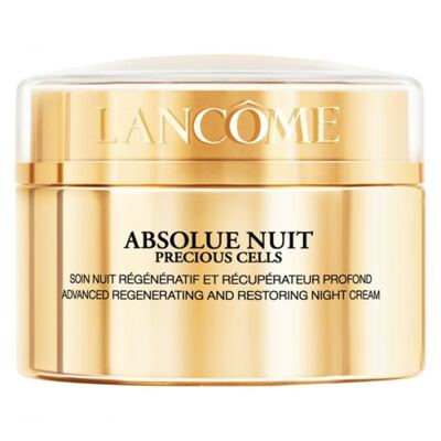 Cuidado Antiidade Regenerador Facial Noturno Lancôme Absolue Precious Cells Nuit - 50ml