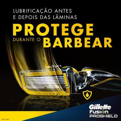 Imagem 2 do produto Aparelho de Barbear Fusion5 Proshield Gillette - 1 Un