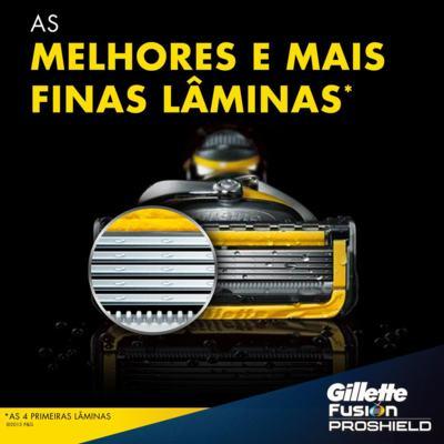 Imagem 4 do produto Aparelho de Barbear Fusion5 Proshield Gillette - 1 Un