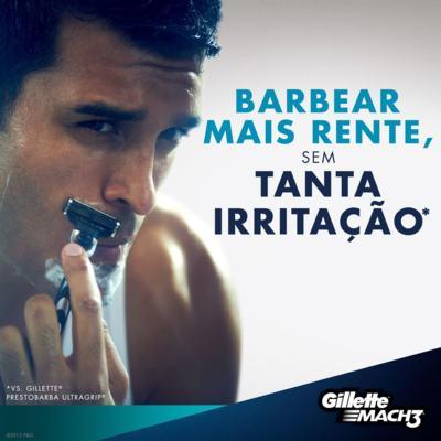 Imagem 7 do produto Aparelho de Barbear Mach3 Gillette - 1 Un