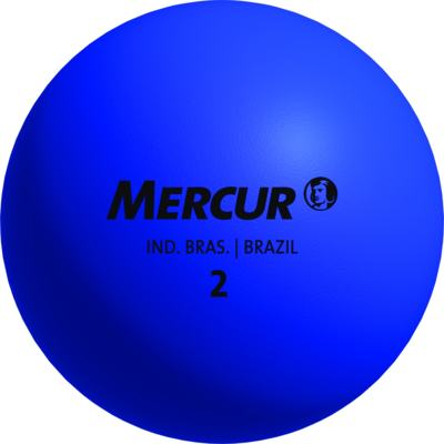 Bola De Borracha N8 Mercur - Azul