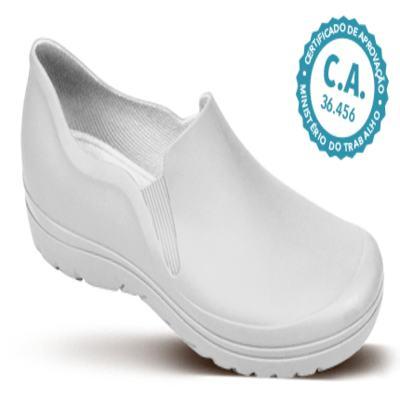 Sapato Profissional Masculino Enzo Branco Boa Onda - 38