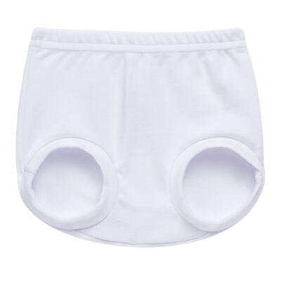 Cobre Fralda para bebe em suedine Branco - Tilly Baby - TB13116.01 COBRE FRALDA BRANCO -P