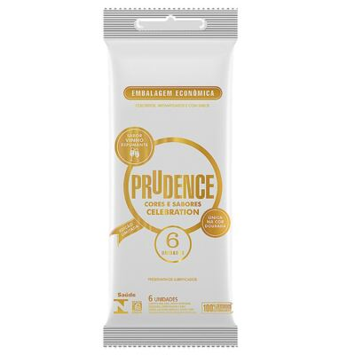 Imagem 3 do produto Kit Preservativo Prudence Neon 3 Unidades + Celebration 6 Unidades