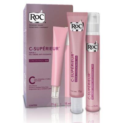 Imagem 5 do produto Roc C Superieur Concentrado 16% + Gel Creme Roc C Superieur Olhos 15g