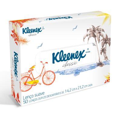Imagem 1 do produto Lenço de Papel Kleenex Box Misto 50 Folhas