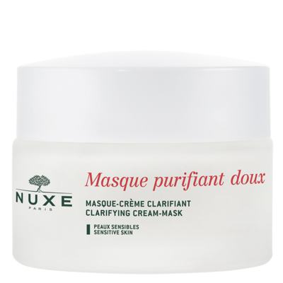 Máscara Clareadora Nuxe Paris Masque Purifiant Doux Aux Petales De Rose - 50ml