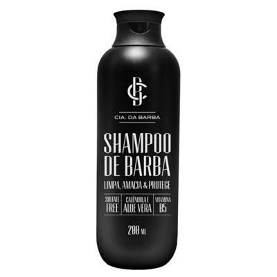 Imagem 2 do produto Shampoo de Barba Cia. da Barba - Shampoo para Barba - 200ml