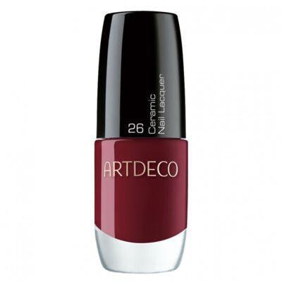 Ceramic Nail Lacquer Artdeco - Esmalte - 26 - Deep Scarlet Red