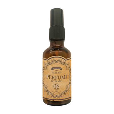 Perfume Retrô 06 Feminino Floral Baunilha Envolvente - 50 ml