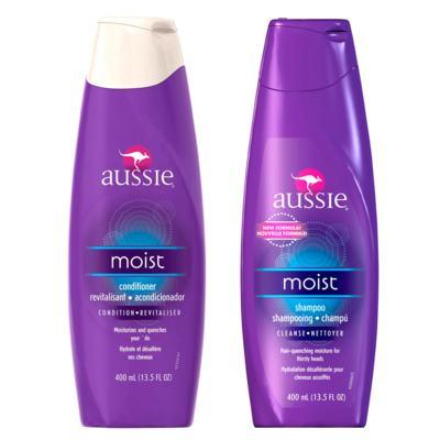 Imagem 1 do produto Kit Shampoo + Condicionador Aussie Moist - Kit