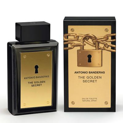 The Golden Secret Antonio Banderas - Perfume Masculino - Eau de Toilette - 50ml