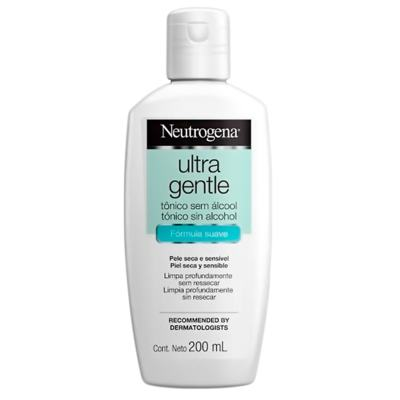 Tônico Facial Neutrogena Ultra Gentle - 200ml