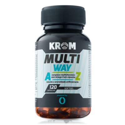 Imagem 2 do produto Multi Way Krom 120 Cápsulas + Suplemento BCAA Krom 90 Cápsulas