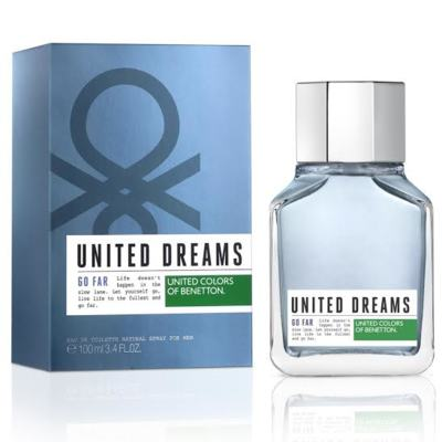 United Dreams Men Go Far Benetton Eau de Toilette Masculino - 60 ml