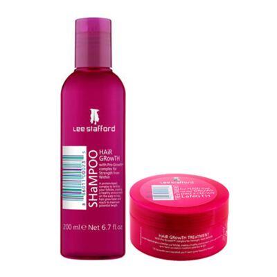 Kit Shampoo + Máscara Hidratante  Lee Stafford Hair Growth - Kit