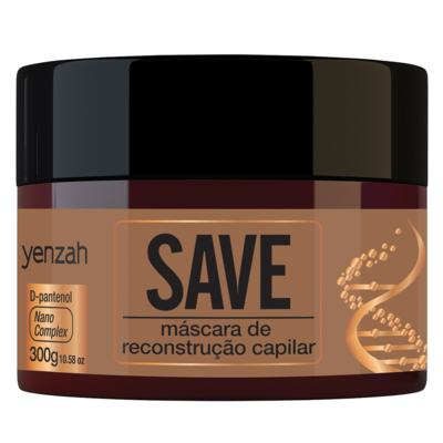 Imagem 4 do produto Yenzah Save Kit - Shampoo + Condicionador + Máscara + Leave-In - Kit