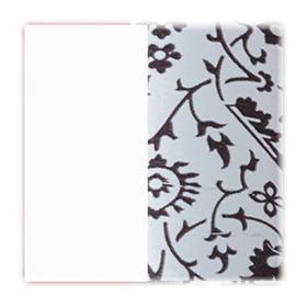 Prendedor de Cabelos Linziclip Core - Sliver Metallic Floral