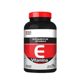 Vitamina E 60 Cápsulas-Chá Mais
