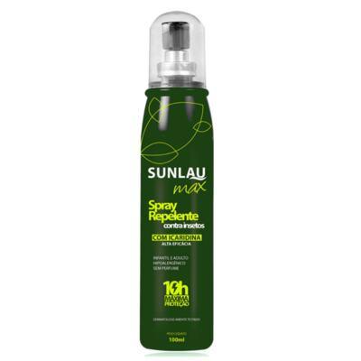 Imagem 2 do produto Repelente Sunlau com Icaridina Max Spray 100ml