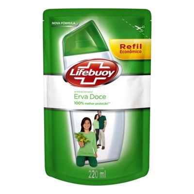 Imagem 1 do produto Sabonete Líquido Lifebuoy Hand Wash Erva Doce Refil 220ml