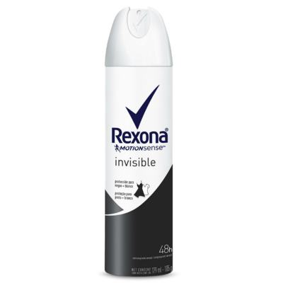 Imagem 1 do produto Desodorante Aerosol Rexona Invisible Feminino 179ml