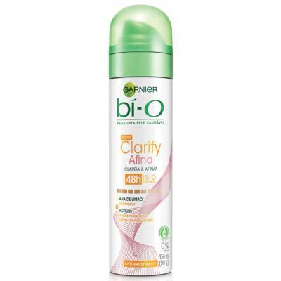 Imagem 1 do produto Desodorante Garnier Aerosol Bí-O Clarify Afina e Clareia Feminino 150ml