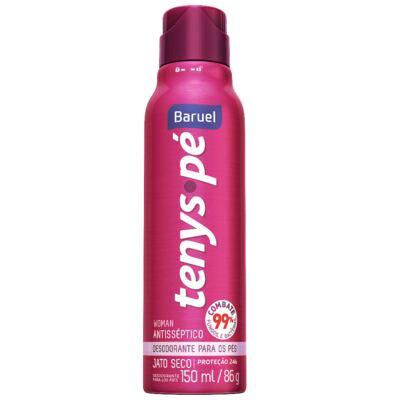 Desodorante para Pés Tenys Pé Woman Jato Seco Calêndula 86g
