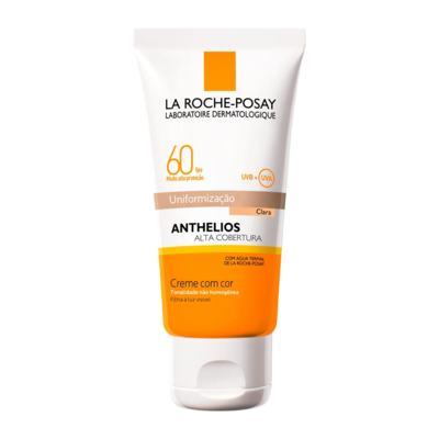 Imagem 1 do produto Protetor Solar La Roche-Posay - Anthelios Alta Cobertura com Cor FPS60 - Claro
