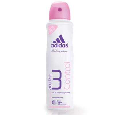 Desodorante Adidas Aerosol Feminino Action 3 Control 150ml