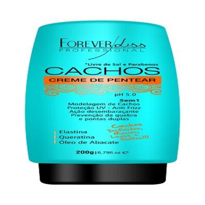 Forever Liss Cachos - Creme de Pentear 5 em 1 - 200g