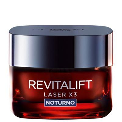 Rejuvenescedor Facial L'Oréal Paris Revitalift Laser X3 Noturno - 50ml