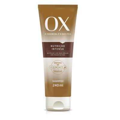 Imagem 1 do produto Shampoo OX Oils Nutrição Intensa 240ml