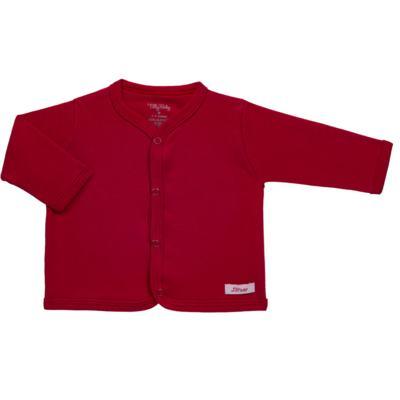 Casaco para bebe em suedine Vermelho - Tilly Baby - TB13115.04 CASACO SUEDINE VERMELHO CEREJA-RN