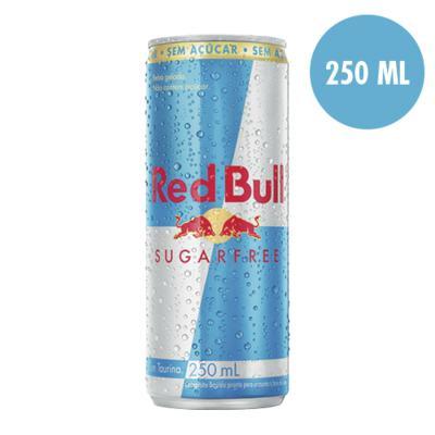 Imagem 1 do produto Energético Red Bull Sugarfree 250ml