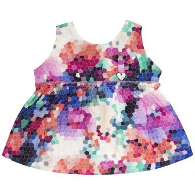 Imagem 3 do produto Bata c/ Legging para bebe em cotton Colorê - Tilly Baby - TB166200 CONJ FEM MOSAICO COLORIDO -3