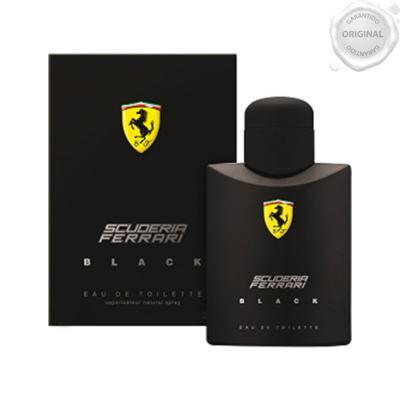 Imagem 3 do produto Ferrari Black Eau de Toilette Perfume Masculino 125ml -