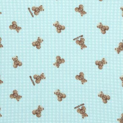 Imagem 2 do produto Body longo para bebe em algodão egípcio c/ jato de cerâmica e filtro solar fps 50 Teddy Sam - Mini & Kids - BS980 BODY LONGO SUEDINE URSINHO-GG
