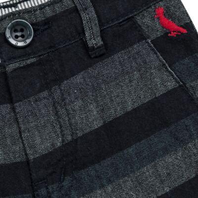 Imagem 2 do produto Bermuda para bebe Striped Jeans - Reserva Mini - AVESSO-M