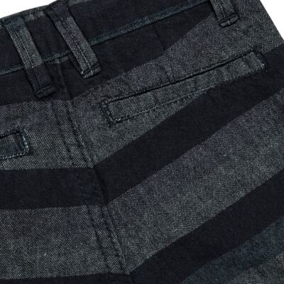 Imagem 5 do produto Bermuda para bebe Striped Jeans - Reserva Mini - AVESSO-M