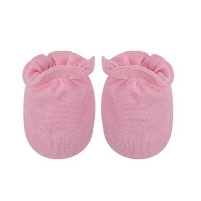 Imagem 3 do produto Kit Touca Luva e Sapatinho em suedine Baby Protect Rosa - Nano Protect