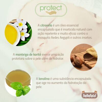Imagem 5 do produto Kit Touca Luva e Sapatinho em suedine Baby Protect Rosa - Nano Protect